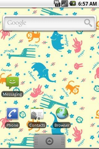 卡通小动物乐园第二辑主题壁纸安卓(android)下载