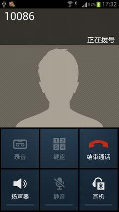 Android Экран Приема Звонка