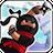 智力忍者飞镖射击(ninja throw)