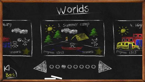 粉笔和黑板的故事 《粉笔画线》上架ios
