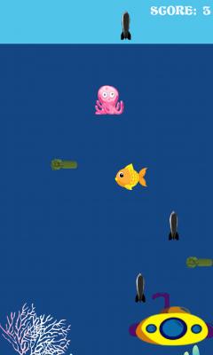 有一群危险的变异海鱼