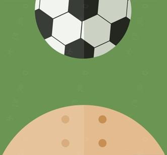 个和尚头顶有个足球是什么