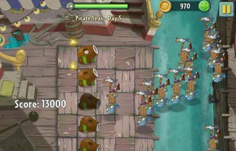 传奇海盗图文2攻略湾植物攻略僵尸大战单机版手游1.76大全图片