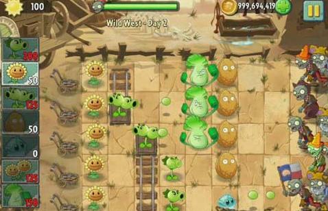 植物僵尸大全2狂野图文西部攻略传奇游戏攻略大战薛仁贵图片