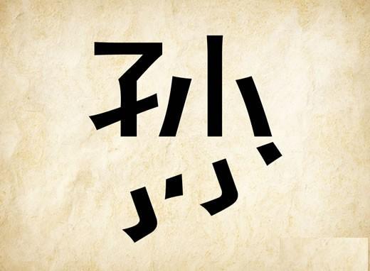 孙字姓氏微信头像