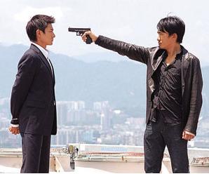 拿枪指着别人的图片_电影超人梁朝伟拿枪指着刘德华_5577安卓网