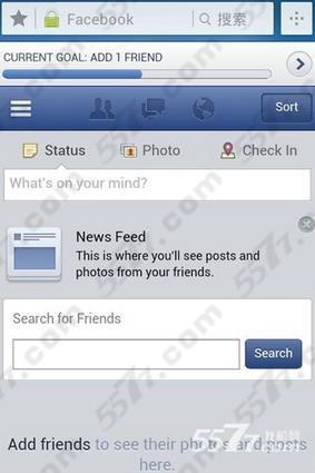 """上传facebook头像,点击""""add"""