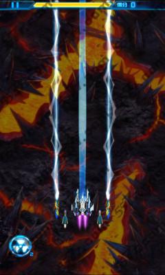 游戏素材 雷霆战机背景素材
