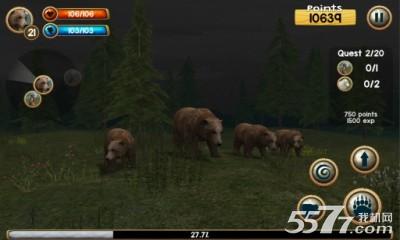 野熊模拟器(动物模拟游戏)