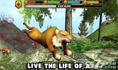 一款画面逼真动物模拟器休闲游戏