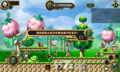 游戏玩法和画风类似冒险岛!