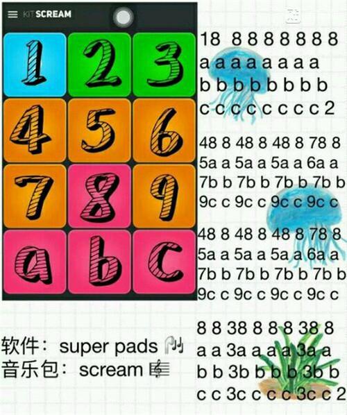 superpads kits曲谱下载 superpads kits教程版 5577我机网