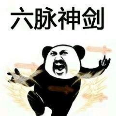 熊猫表情招式功夫图女装修服装店韩国图片