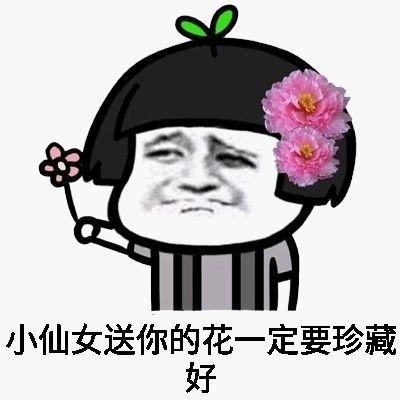 我是小仙女不能生气表情包图片